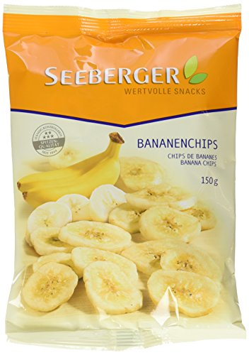 Seeberger Bananenchips, 5er Pack (5 x 150 g)