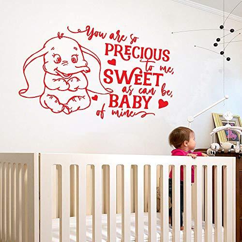 Jungen Aufkleber Aufkleber Für Baby Rom Niedlichen Elefanten Liebe Blase Tapete Kinderzimmer...