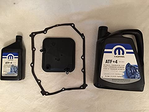 Mopar Nty Transmission automatique kit d'entretien filtre + 6L ATF + 4Jeep Cherokee KJ 03?13/Wrangler TJ 03?1142rle