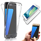 Electronics & Photo : Galaxy S8 Plus Case [Non-slip],Vandot Shockproof Ultra Thin Slim Fit Soft TPU Silicone All Round Front and Back Full Body 360 Degree Protective Case Cover For Samsung Galaxy S8 Plus-Transparent Clear