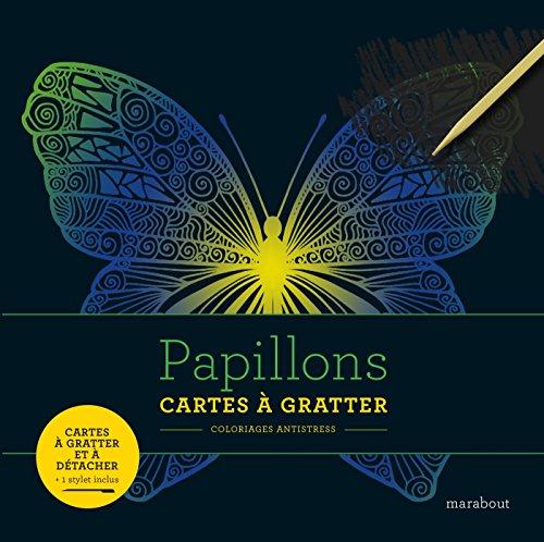 Livre à gratter papillons par Collectif