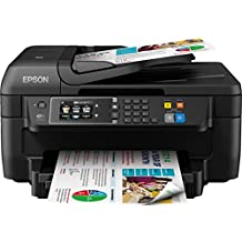 Epson WorkForce WF-2660DWF Multifunzione compatto 4-in-1, a colori, Nero