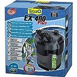 Tetra Aquarien Außenfilter EX 400 Plus (leistungstarker Filter für Aquarien von 10-80 L, Komplettset mit Ansaughilfe zum Schnellstart und Filtermedien)