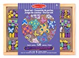 Melissa & Doug Holzperlen-Set Schmetterlinge