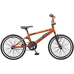 """Nueva 2016Rooster Big Daddy–Rueda de 20""""Freestyle BMX–Bicicleta Color Naranja se envía con un libre cremallera Stix–Pack"""
