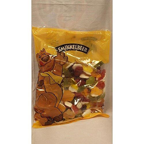 Smikkelbeer Fruchtgummi Zoete Mix 1000g Beutel (süße Mischung)