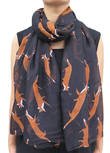 lina-lily-fox-animal-print-womens-scarf-oversized-black