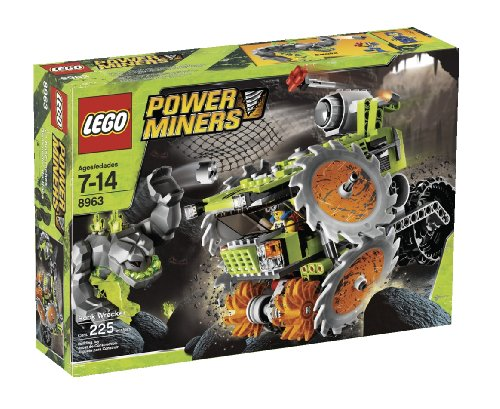 LEGO Power Miners Rock Wrecker (8963) by LEGO (Lego Power Miner Sets)