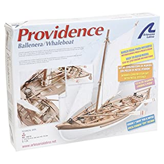 Artesanía Latina 19018 - Modell aus Holz: Walfangboot Providence 1/25