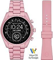 ساعة مايكل كورس جين 5 برادشو للنساء متعددة بمينا المنيوم رقمية - MKT5098