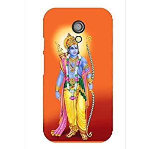 Print India 487AO Mobile Back Cover for Moto X