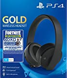 Sony Gold Black Wireless 7.1 Gaming Headset - Fortnite Neo Versa Bundle Ps4- Playstation 4