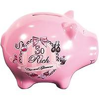 Preisvergleich für Spardose Schwein rosa–So Rich–Chic and Glamour