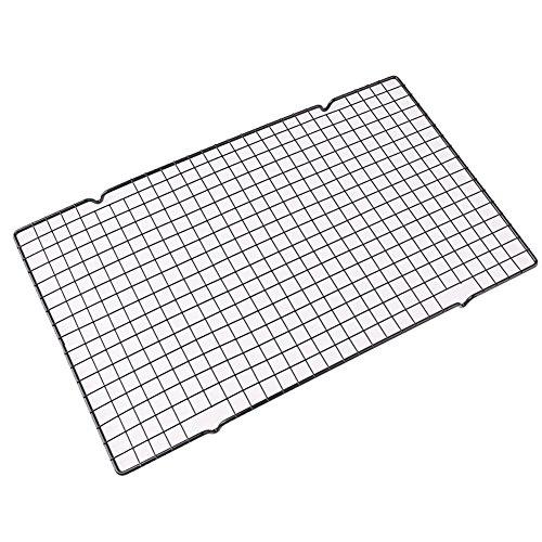 uni-k schwarz Backen Kuchen Kalte Rack Eisen sowie Schnell und Malerei Uniform Raster für Baker (Eisen Einheitliche)