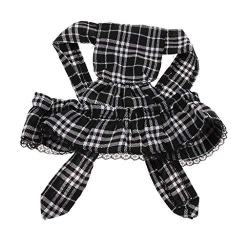 Viktorianisches Kostüm Dienstmädchen - Homyl Viktorianisch Maid Dienstmädchen Haushälterin Hut Haustier Cosplay Kostüm Zubehör für Hunde und Katzen - L