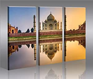 taj mahal bild auf leinwand poster f r die wand bilder auswahl in unserem. Black Bedroom Furniture Sets. Home Design Ideas
