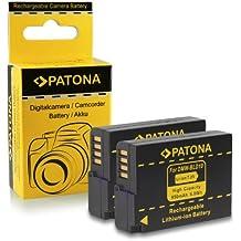 2x Bateria DMW-BLD10 E para Panasonic Lumix DMC-GF2 | DMC-G3 | DMC-GX1 | DMC-GX7