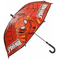Official Spiderman Bubble Umbrella - Approx 66 X 64 cm