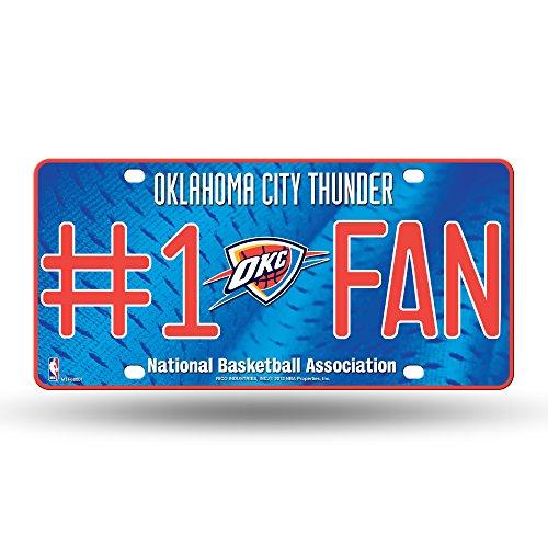 Rico NBA Nummernschild #1, Oklahoma City Thunder