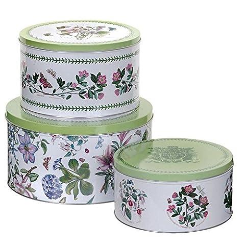 Portmeirion Botanischen Garten - Satz Von 3 Kuchenformen (Packung mit 2) (Portmeirion Botanischer Garten Öl)