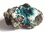 Cristallo di dioptasio, peso 250 gr., dimensioni 10x7x5 cm