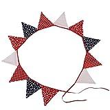 LUOEM Wimpel Banner Dreieck Fahne Wimpel für Party Zuhause Deko Stern Musterdesign