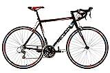 KS Cycling Uni Fahrrad Rennrad Velocity RH 59 cm, Schwarz, 28, 214R