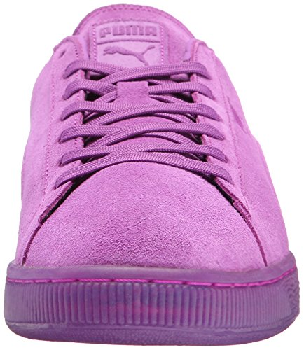 Puma Suede Emboss Iced Fluo Fashion Sneakers Purple Cactus Flower