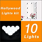 Luces LED Para Espejo WanEway, Estilo Hollywood, Kit De Luces Para...
