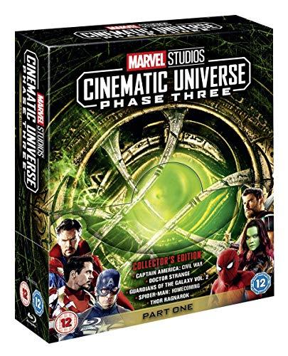 685daec4b23d6 Marvel Studios Collector's Edition Box Set - Phase 3 Part 1 [Blu-ray]