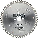 Mecabois - Lame pour scie grande precision - Ø mm.250 - Alésage mm.30 - Nb de dents.80 -