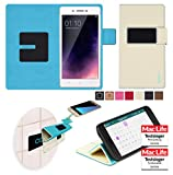 reboon Hülle für Oppo Neo 7 Tasche Cover Case Bumper | Beige | Testsieger