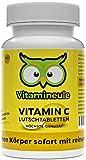 Vitamin C-Lutschtabletten - ohne künstliche Zusatzstoffe - 100% Zufriedenheitsgarantie - vegane Lutschtabletten - leckerer Zitronengeschmack - Qualität aus Deutschland - Vitamineule® Vitamin C