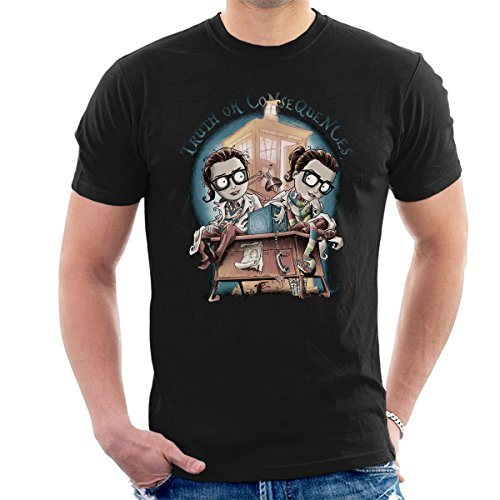 Doctor Who Truth Or Consequences Men's T-Shirt