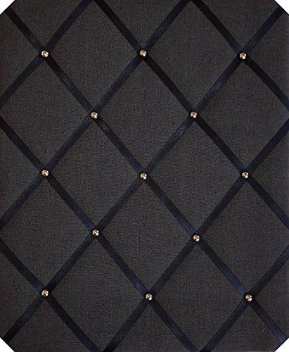 notice-boardslarge-40x48cm-black-linen-chrome-detail-memo-boardsbulletin-boards-message-boards-hangs