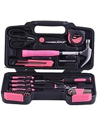 Maletín Juego Beauty Mujer Chica Lady 40piezas maleta de viaje Viaje caja de herramientas