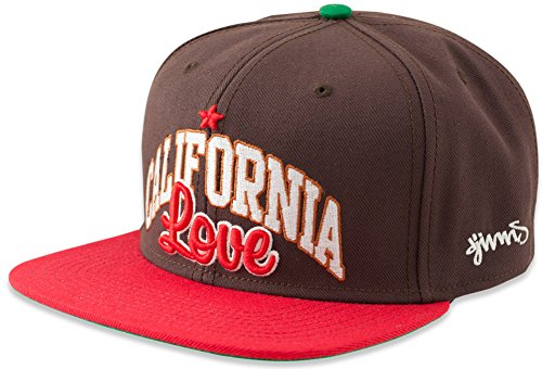 Djinns California Basecap Brown Snapback 6 Panel Kappe Neu OSFA Herren Men