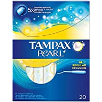 Tampax Regular Perle Applikator Tampons (20) - Packung mit 2 preisvergleich bei billige-tabletten.eu