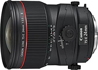 Canon TS-E 24 mm f/3.5 L II - Objetivo para Canon (Distancia Focal Fija 24 mm, Apertura f/3.5) Negro (B001TDM7DA) | Amazon price tracker / tracking, Amazon price history charts, Amazon price watches, Amazon price drop alerts