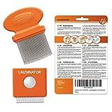 Peigne anti poux/lentes Lausinator - en métal - original/3 en 1/très fin - dents très resserrées - pour enfant et adulte