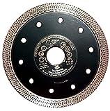 WITTHAUT Diamantwerkzeug Trennscheibe für Fliesen und Feinsteinzeug 125 mm, schwarz, TTC-Fliese