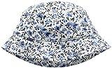 GANT Mädchen Mütze O. Flower Sun Hat, Elfenbein (Eggshell 113), X-Large