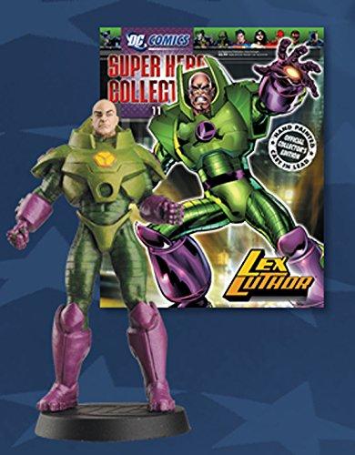 DC Comics - Figura de Plomo DC Comics Super Hero Collection Nº 11 Lex Luthor