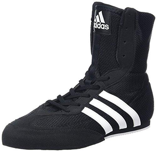 adidas Herren Box Hog II Boxschuhe Schwarz/Weiß