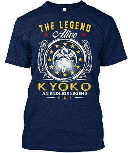teespring Novelty Slogan T-Shirt - kyoko - The Legend Alive