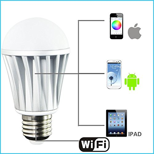 Light Bulbs 2019 New Style Claite 7w E27 Wifi Smart Led Light Bulb 5050 22led App Control Dimmable Rgbw Led Bulb Work With Alexa Google Home Consumers First