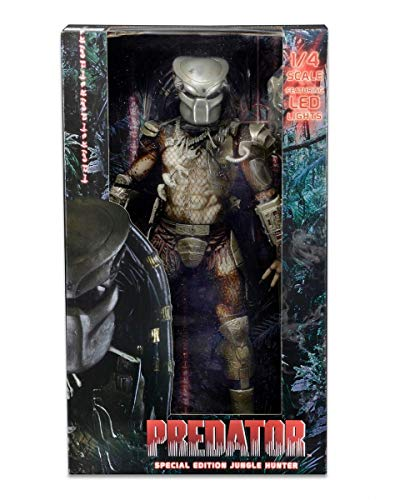 Neca NECA51527 - Predator 1987 Jungle Hunter 1/4 Scale 45 cm Deluxe Action Figur mit LED Strictly Limitierte One-Run Edition