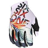 SixSixOne Handschuhe Raji Weiß Gr. XS