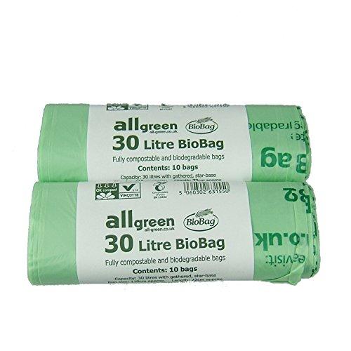 all-verde-30-litri-biobag-compostabili-bordo-stradale-caddy-bin-liners-confezione-da-20