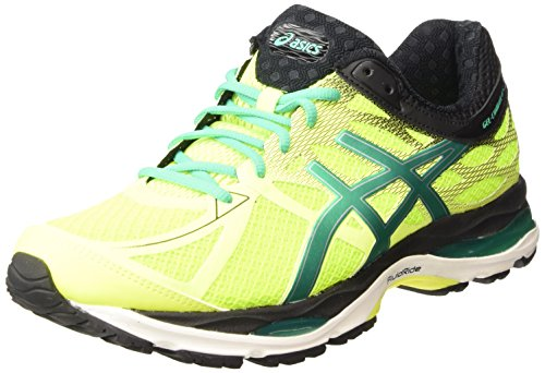 ASICS Gel-cumulus 17 - Scarpe Running Uomo, Giallo (flash Yellow/pine/black 0788), 46 1/2 EU